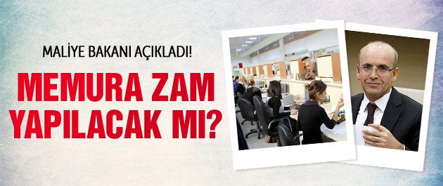 Maliye Bakanı: Memuru enflasyona yedirmeyeceğiz!