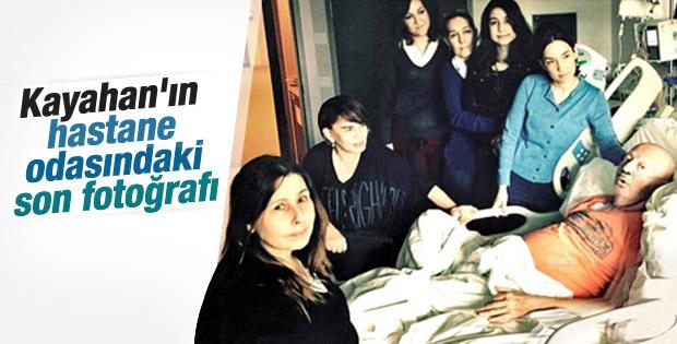 Hastane odasında Kayahan'a son ziyaret