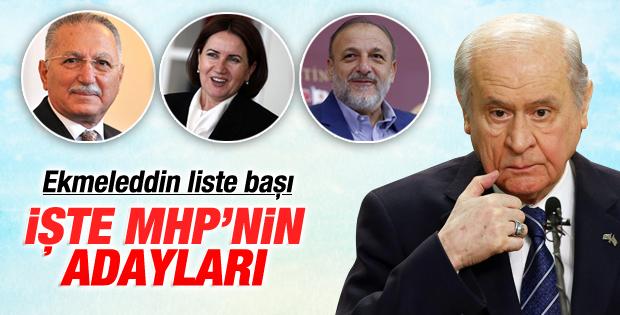 2015 MHP Milletvekili Aday Listesi