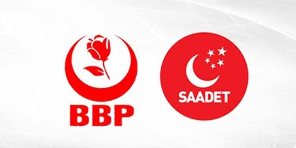 'Saadet Partisi ve BBP ittifakı Ak Parti'yi zorlar'