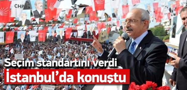 Kemal Kılıçdaroğlu'nun Kartal mitingi
