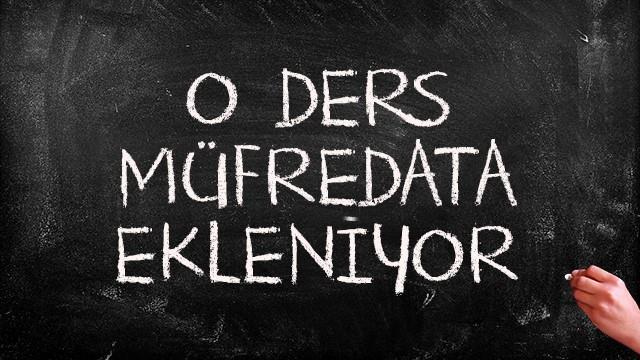 Nabi Avcı: Müfredata yeni ders eklenecek!