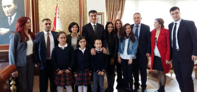 Türkan Yamantürk İlkokulu'ndan Ankara Emniyetine Anlamlı Ziyaret