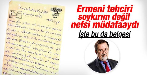 1915'te Ermeni tehcirini başlatan mektup ortaya çıktı