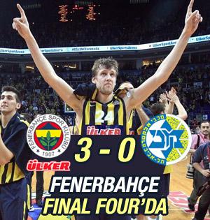 Fenerbahçe Ülker Euroleague'de Final Four'da