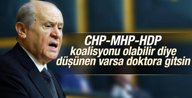 Devlet Bahçeli'den CHP-MHP-HDP koalisyonu yorumu