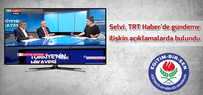 Latif Selvi, TRT Haber'de gündeme ilişkin açıklamalarda bulundu
