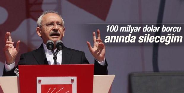 Kılıçdaroğlu'ndan kredi kartı borçlarını silme vaadi