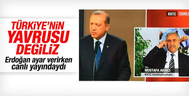 KKTC Cumhurbaşkanı Akıncı'dan Erdoğan'a yanıt