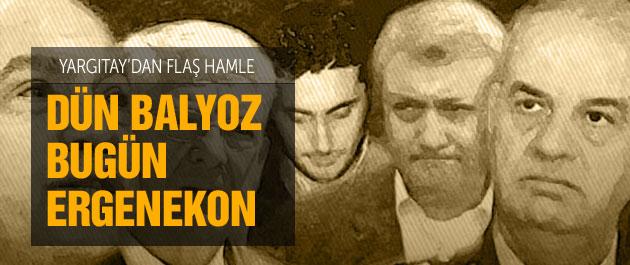 Yargıtay'dan son dakika Ergenekon davası talebi
