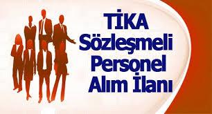 TİKA Sözleşmeli Personel alım ilanı