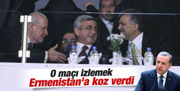 Erdoğan'a göre Gül Erivan'a giderek karşı tarafa koz verdi