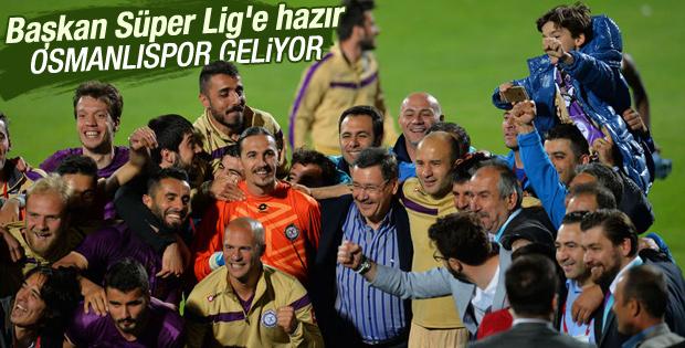 Osmanlıspor Süper Lig'e göz kırptı