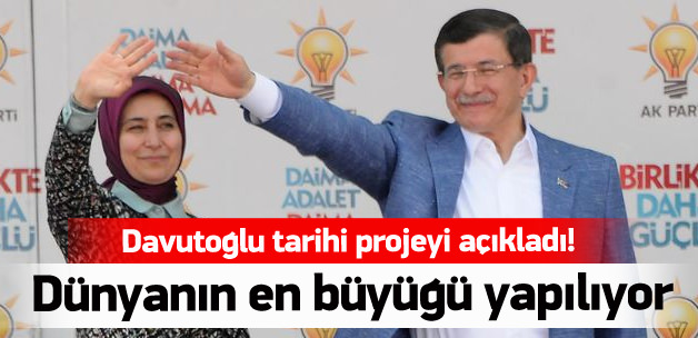 Başbakan Davutoğlu'ndan büyük müjde!