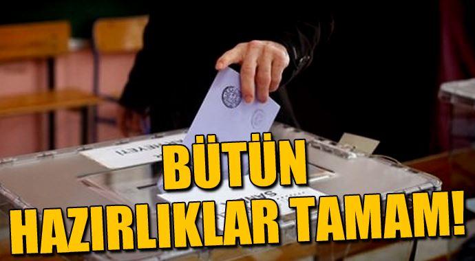 İçişleri Bakanlığı seçim tedbirlerini aldı