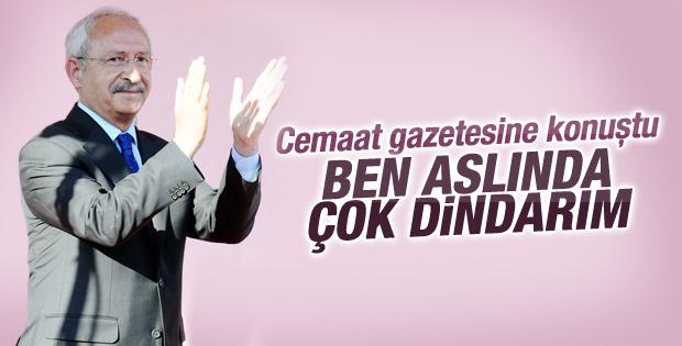 Kemal Kılıçdaroğlu'ndan ben de dindarım vurgusu