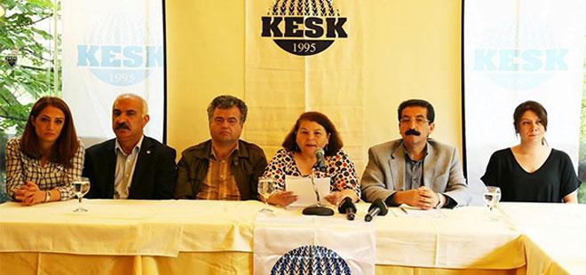 KESK: Seçimlerde tarafız, AKP karşıtıyız