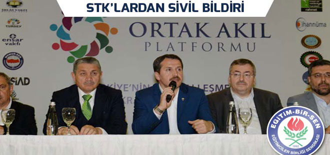 203 STK'dan Ortak Sivil Bildiri