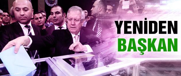 Aziz Yıldırım yeniden başkan seçildi