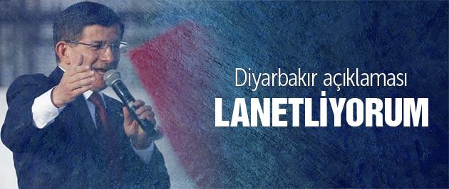 Davutoğlu'ndan Diyarbakır açıklaması