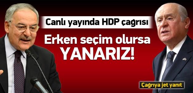 Haluk Koç'tan Bahçeli'ye HDP çağrısı