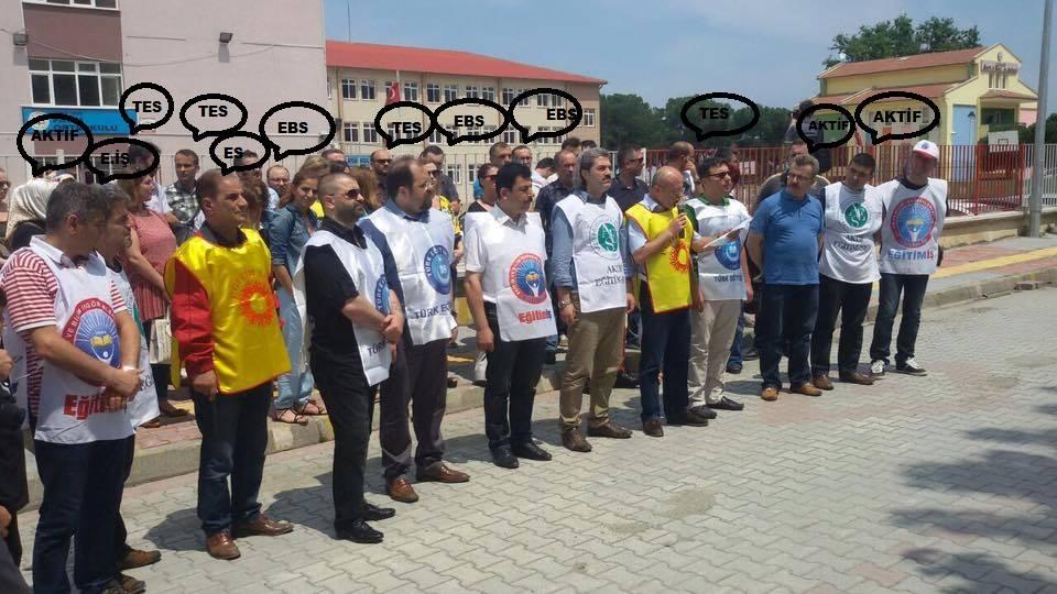 Yandaş Haberden Türk Eğitim Sen'e İftira