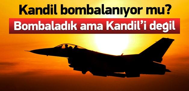 Kandil bombalandı iddialarına açıklama
