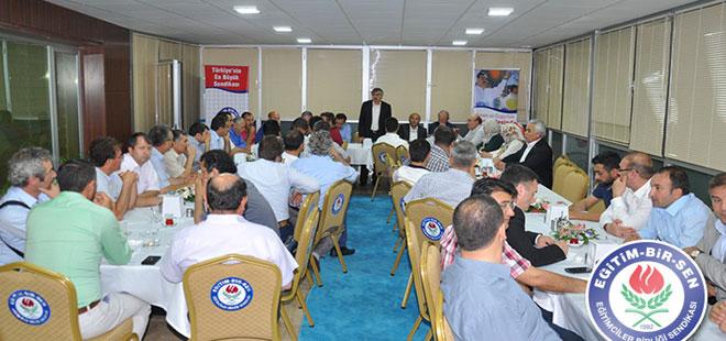 EBS Ankara Şubeleri İftarda Buluştu