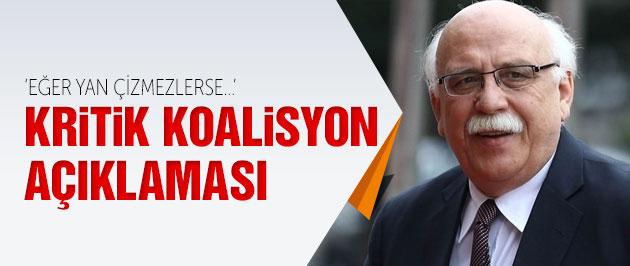 Bakan Avcı'dan kritik koalisyon açıklaması