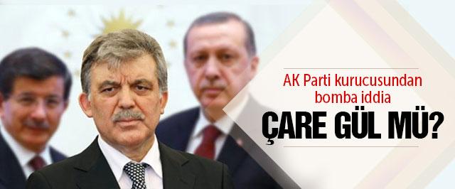AK Parti için çare Abdullah Gül mü?