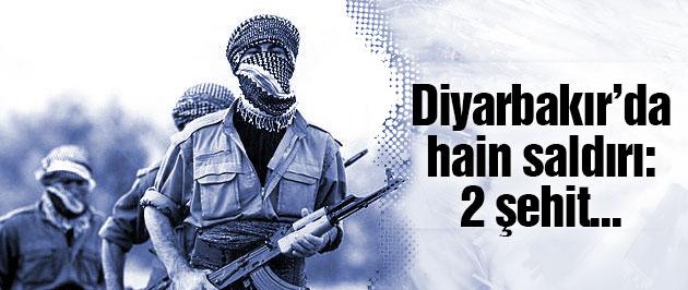 Diyarbakır'da askeri araca hain saldırı! 2 şehit...
