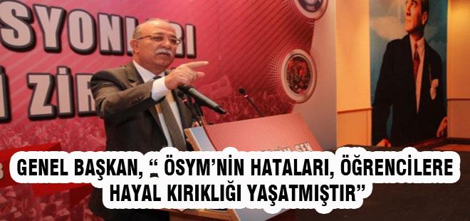 Koncuk'tan ÖSYM'ye KPSS Tepkisi