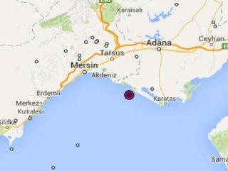 Mersin Körfezi'nde 5 büyüklüğünde deprem