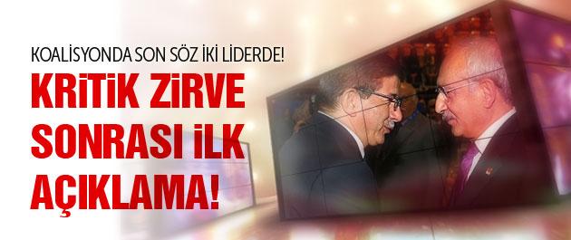 AKP ve CHP'den son görüşme