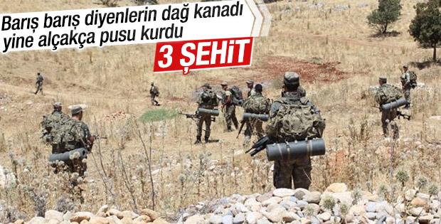 Şırnak'ta patlama: 3 şehit