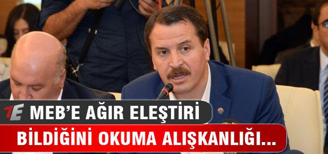 Ali Yalçın'dan MEB'e Rotasyon Tepkisi