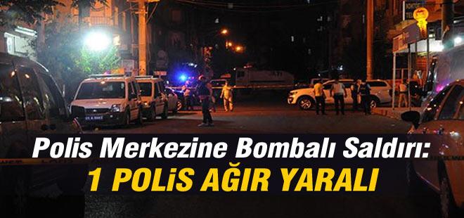 Polis Merkezine Bombalı Saldırı: 1 Polis Ağır Yaralı