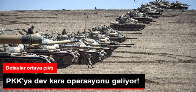 TSK Hazırlık Yapıyor! PKK'ya Dev Kara Operasyonu Geliyor