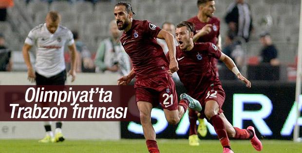 Trabzonspor Beşiktaş'ı deplasmanda yendi