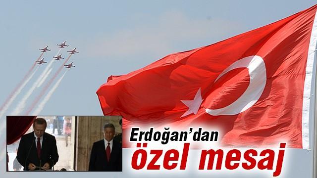 Erdoğan'dan zaferin 93. yılına özel mesaj