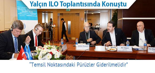 Ali Yalçın'dan ILO'ya Eleştiri
