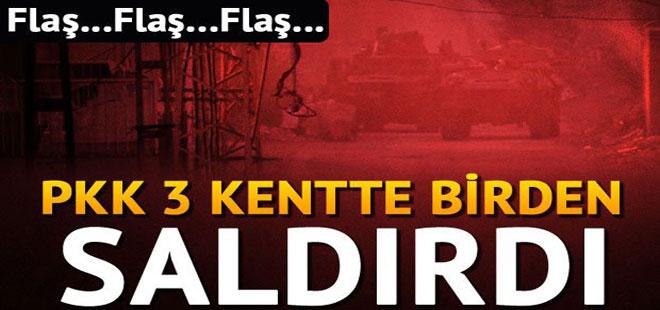 Hakkari, Mardin ve Elazığ'da saldırı: 4 yaralı