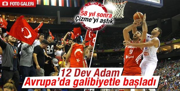 Türkiye Eurobasket 2015'e İtalya galibiyetiyle başladı