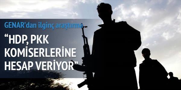 HDP, PKK'ya hesap veriyor