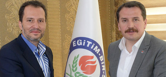 Erbakan'dan Ali Yalçın'a Ziyaret