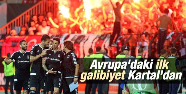 Beşiktaş, Avrupa Ligi'ne galibiyetle başladı
