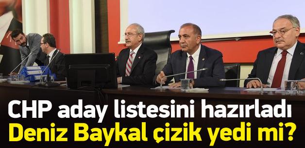 CHP milletvekili aday listesini netleştirdi