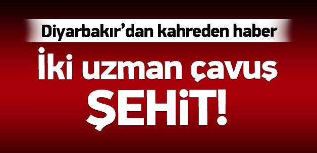 Diyarbakır'da askerlere hain saldırı: 2 şehit!
