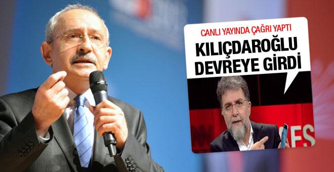 Ahmet Hakan tepki gösterdi Kılıçdaroğlu devreye girdi