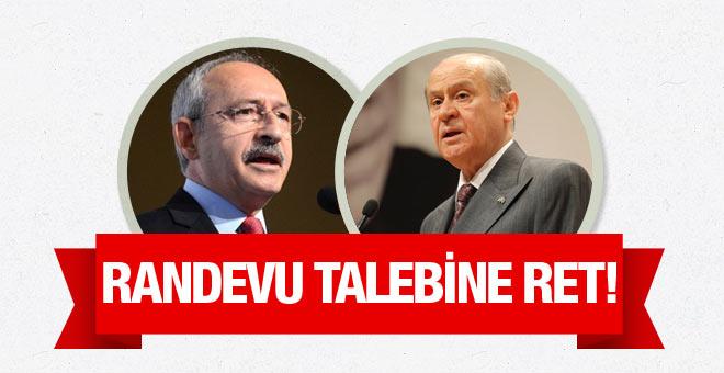 Devlet Bahçeli, Kılıçdaroğlu'nun talebini reddetti!